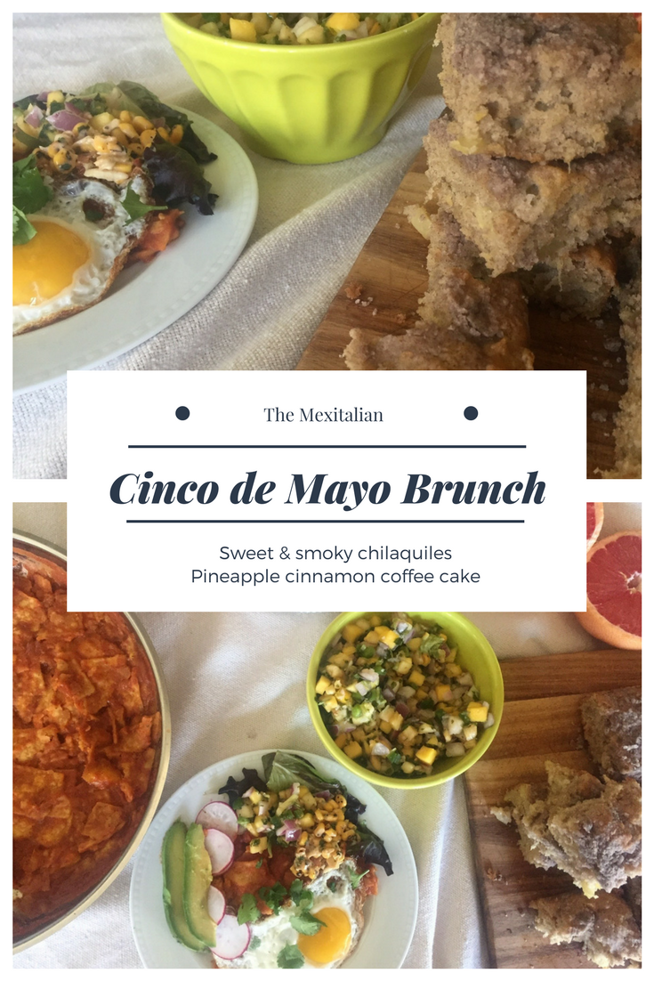 Cinco de Mayo Brunch Graphic - TheMexitalian.com