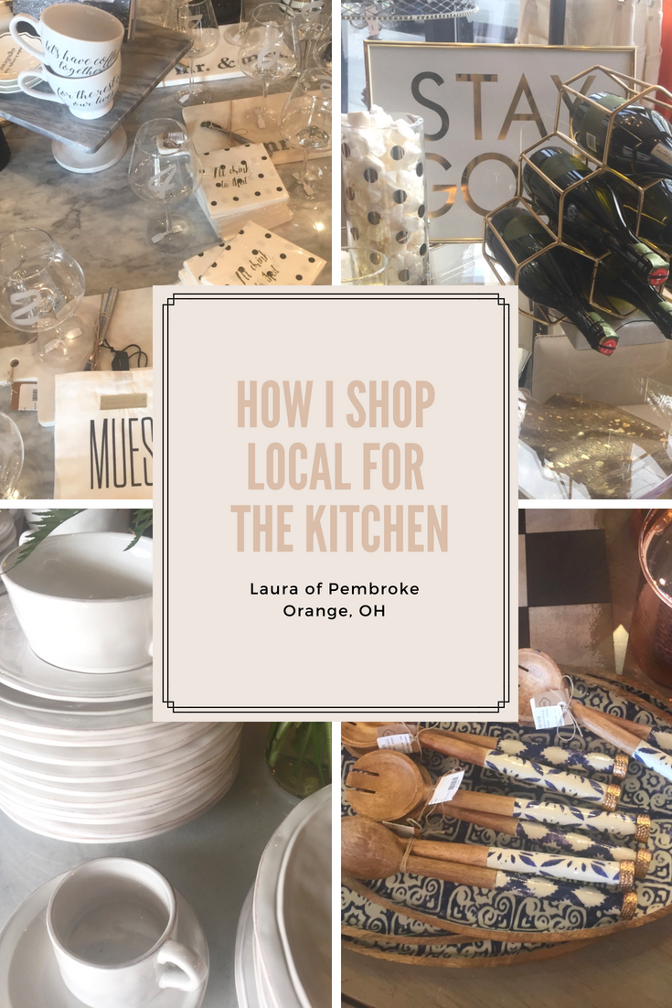 How I shop Local for The Kitchen Style